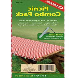 Coghlan's 0660 Picnic Combo Pack Tablecloth with 6 Clamps 03