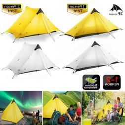 1-2Person LanShan 3F UL GEAR Outdoor Ultralight Camping Tent