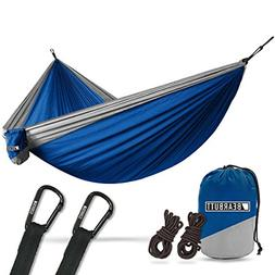 1 Parachute Camping Double Hammock By Bear Butt START UP COM