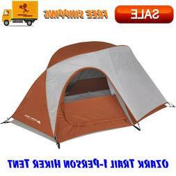 1-Person Hiker Tent with Large Door for Easy Entry, Outdoor