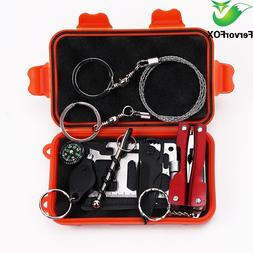 1 Set Outdoor Emergency Equipment SOS Kit First <font><b>Aid