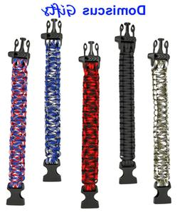 """10"""" NEW! Paracord BRACELET Military Outdoor TACTICAL Surviva"""