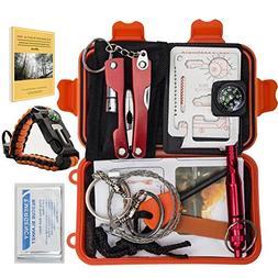 Emergency Survival Kit Bundle.11 Items. Pocket size. Essenti