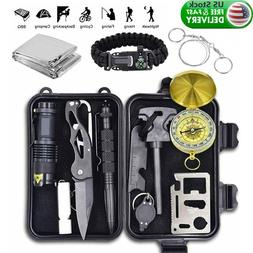 12 in 1 emergency survival kit outdoor