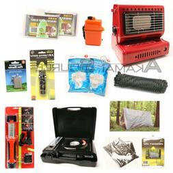 12 pc Survival Kit Emergency Camping Gear Butane Stove Heate
