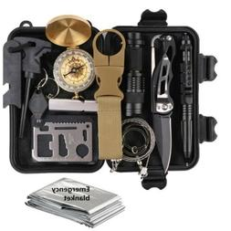 14 in 1 survival kit tool emergency