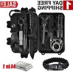 14in1 Survival Kits Outdoor Camping Tactical Adventure Disas