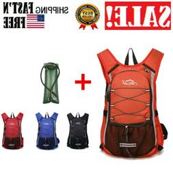 15L Outdoor Sports Hydration Backpack+3L Water Bladder Campi
