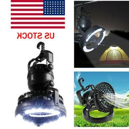 2-in-1 18LED Camping Light + Ceiling Fan Outdoor Hiking Gear