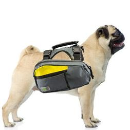 2-in-1 Dog Harness and Hiking Dog Backpack For Outdoor Use G