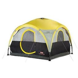 2-in-1 Yellow All-Day Shelter 4-Person Capacity Tent Outdoor