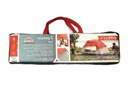 2 Person Dome Tent 4'6'X7'6'X48' - Red - Embark and #153;