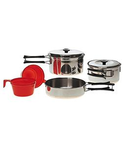 Military 2 Person Lightweight Portable CAMPING COOK SET - St