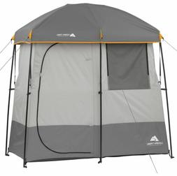 2 Room Shower Tent Camping Gear Beach Shelter Outdoor Ozark