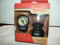Coleman 2013 Gear Pack, Mini Camp Lantern with LED Compass