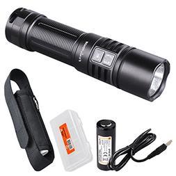 Fenix PD40R 3000 Lumen USB Rechargeable LED Tactical Flashli