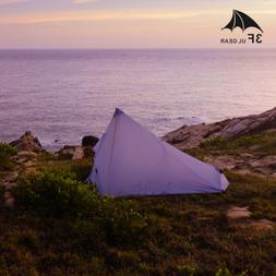 2018 LANSHAN 3F UL GEAR 1 Person Outdoor Ultralight Camping