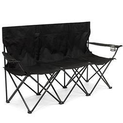 Best Choice Products 3-Person Portable Folding Camping Chair