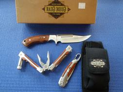 Gear Guide 3-Piece Hunting/Camping Knifes and Tool Set