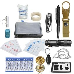 30 in 1 SOS Emergency Camping Survival First Aid Kit Outdoor