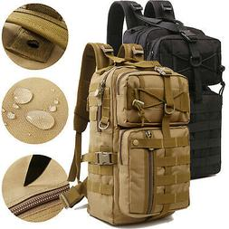 30L Tactical Military Backpack Molle Hiking Camping Rucksack