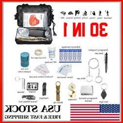 30Pcs/Set SOS Emergency Camping Survival Equipment Outdoor G