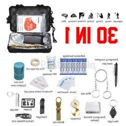30Pcs/Set SOS Emergency Survival Equipment Gear Tactical Too