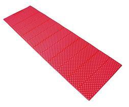 AceCamp 3941 Full Length Accordion Sleeping Pad, Red