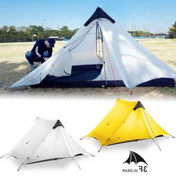 3F 1 - 2 Person Outdoor Ultralight Camping Double Layer Wate
