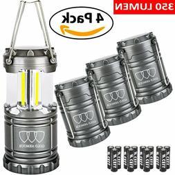 4 Brightest LED Lantern Camping Lantern EMITS 350 LUMENS Cam