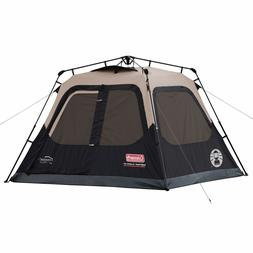 Coleman 4-Person Cabin Tent with Instant Setup for Camping S