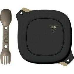 UCO GEAR 4 PIECE TRAVEL CAMPING MESS KIT WITH PLATE BOWL SPO