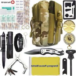 40 in 1 outdoor camping military tactical