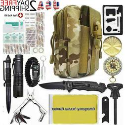 40 in 1 survival kit military tactical