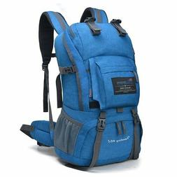 MOUNTAINTOP 40 Liter Hiking Backpack with Rain Cover for Out