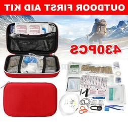 430Pcs/Set Outdoor Emergency SOS Survival Gear First Aid Kit
