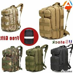 45L Outdoor Tactical Backpack Survival Gear Rucksack Travel