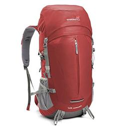 Mountaintop 50+5 Liter Internal Frame Backpack with Rain Cov