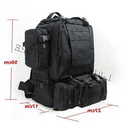 50L Outdoor Military Molle <font><b>Tactical</b></font> Bag