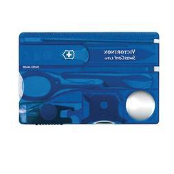 Victorinox 53332 Knife Swisscard Lite Sapphire
