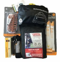6 Pc Lot Camping Hiking Survival Gear Coleman Jacket Duffle