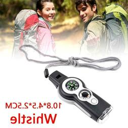 7 in1 Outdoor Hiking Camping Emergency Survival Gear D2R2 Wh