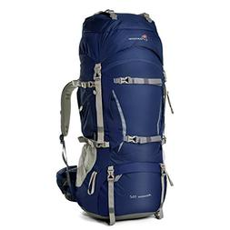 Mountaintop 70L+10L Outdoor Sport Internal Frame Backpack Hi