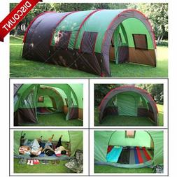 8-10 Person Instant Cabin Tent Family Camping Equipment Gear
