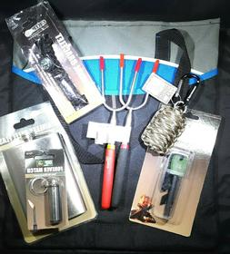 8 piece Bug Out Bag - Survival Gear Gift Set - Camping - Eme