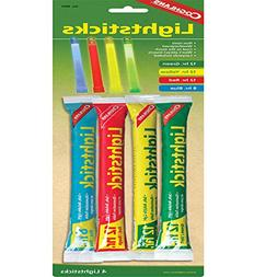 Coghlan's Lightsticks, Multi-Colored, 4-Pack