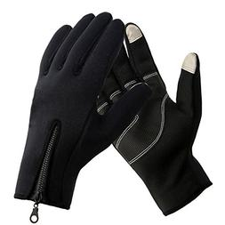 AV SUPPLY Touchscreen Cycling Gloves Winter Cold Weather Mot