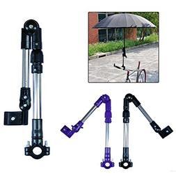 Bike Bicycle Wheelchair Stroller Connector Umbrella Holder M