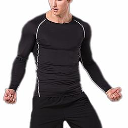 CFR Sport Base Layer Long Sleeves Compression Tights Shirts