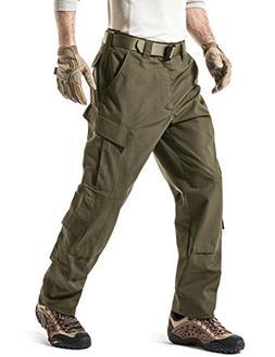CQR CQ-UAP01-TDR_S/Regular Men's ACU/BDU Rip Stop Trouser ED